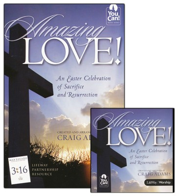 Amazing Love CD Promo Pack, An Easter Celebration of  Sacrifice and Resurrection  -     By: Craig Adams