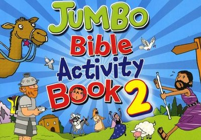 Jumbo Bible Activity Book 2  -     By: Tim Dowley
