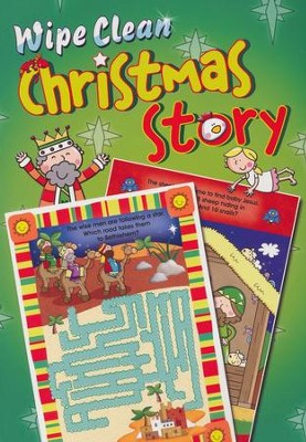 Wipe Clean Christmas Story  -     By: Juliet David     Illustrated By: Marie Allen