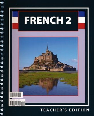 BJU French 2, Teacher's Edition    -