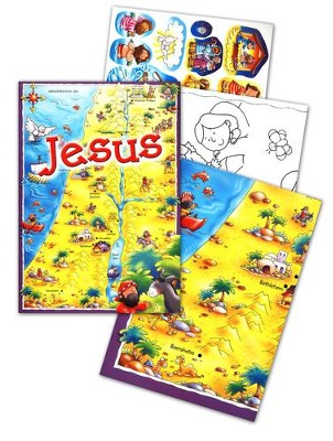 Jesus Activity Pack  -     By: Juliet David