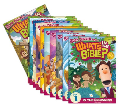 What's in the Bible? 1-11, DVD Set   -     By: Phil Vischer