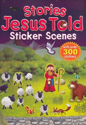 Stories Jesus Told Sticker Scene Book  -     By: Juliet David