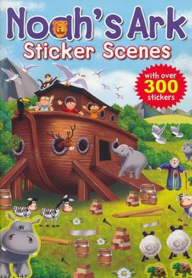 Noah Sticker Scene Book  -     By: Juliet David