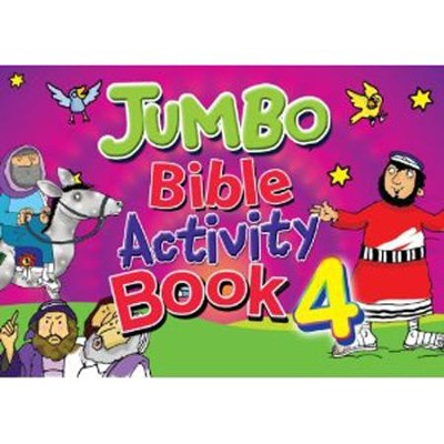 Jumbo Bible Activity Book 4   -     By: Tim Dowley