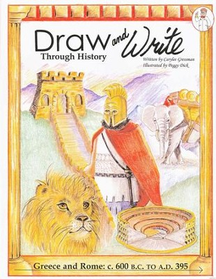 Draw and Write through History: Greece and Rome   -     By: Carylee Gressman