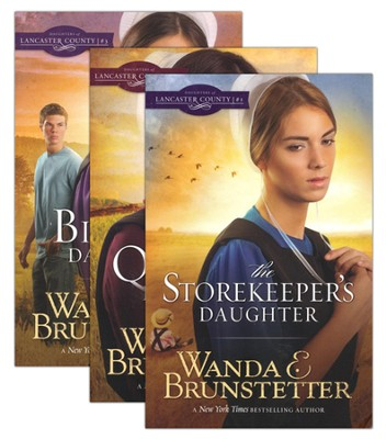 Daughters of Lancaster County Series, Vols. 1-3 (rpkgd)   -     By: Wanda E. Brunstetter