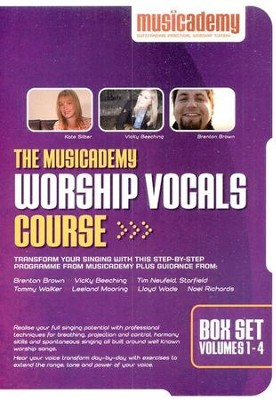 Musicademy Worship Vocals Course Box Set   -