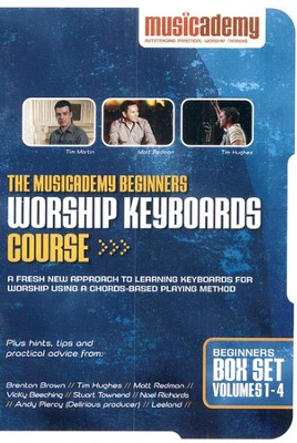The Musicademy Beginners Worship Keyboards Course--DVD Set  -
