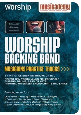 Worship Backing Band Musicians Practice Tracks    -