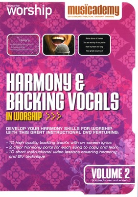 Harmony & Backing Vocals In Worship, Volume 2   -