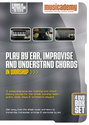 Play By Ear, Imporvise & Understand Chords in Worship DVD's  -