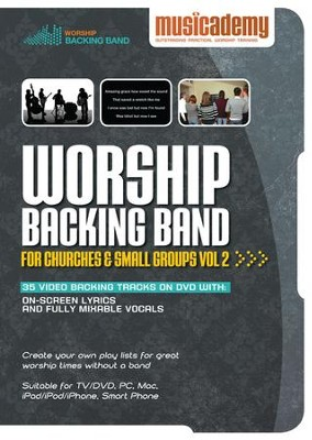 Worship Backing Band for Churches and Small Groups Volume 2  -