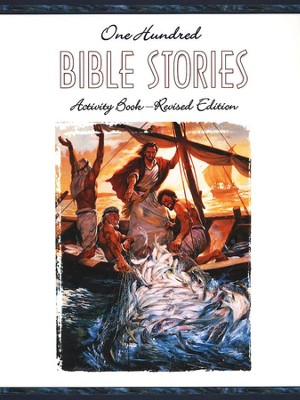 One Hundred Bible Stories Activity Book: Revised Edition   -