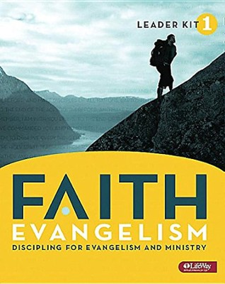 FAITH Evangelism: Discipling for Evangelism and Ministry, Volume 1, DVD Leader Kit  -     By: LifeWay Church Resources