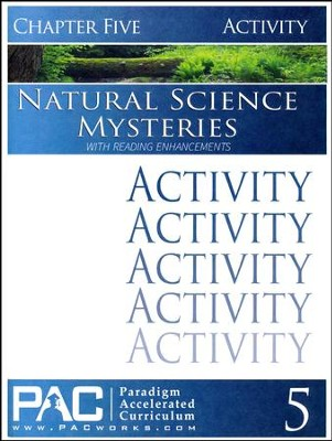 Natural Science Mysteries Activities Booklet, Chapter 5  - Slightly Imperfect  -