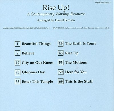 Rise Up!: A Contemporary Worship Resource  (Accompaniment CD)  -