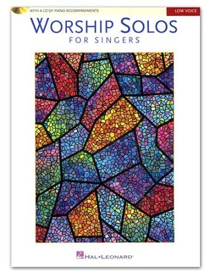 Worship Solos for Singers: Low Voice (Book/CD)   -