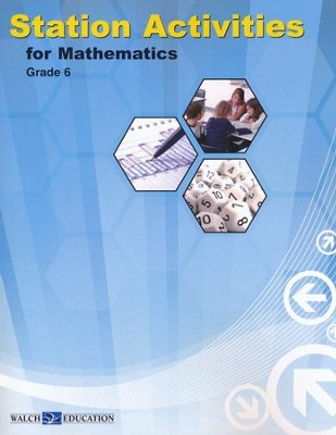 Station Activities for Math Grade 6   -