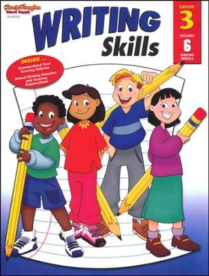 Steck-Vaughn Writing Skills Workbook, Grade 3   -