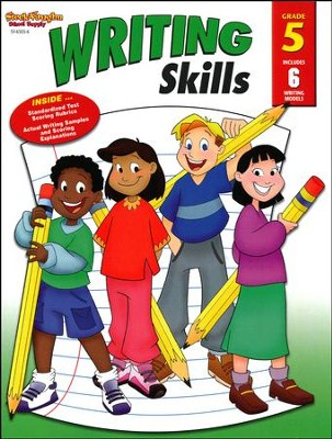 Steck-Vaughn Writing Skills Workbook, Grade 5   -