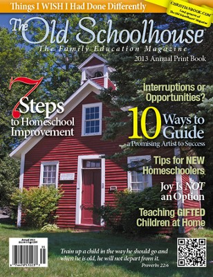 The Old Schoolhouse 2013 Annual Print Book   -