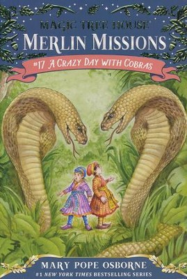 Magic Tree House #45: Crazy Day with Cobras  -     By: Mary Pope Osborne     Illustrated By: Sal Murdocca