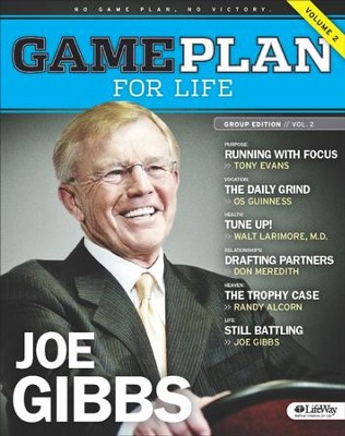 Game Plan for Life: Volume 2, Member Book  -     By: Joe Gibbs