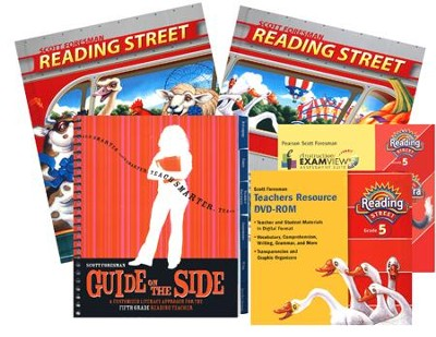 Scott Foresman Reading Street Grade 5 Homeschool Bundle   -