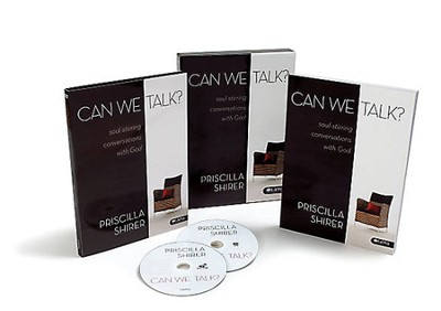 Can We Talk? Soul-Stirring Conversations with God--DVD Leader Kit  -     By: Priscilla Shirer