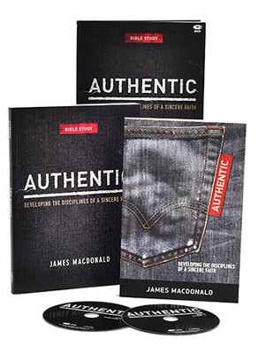 Authentic: Developing the Disciplines of a Sincere Faith, DVD Leader Kit  -     By: James MacDonald