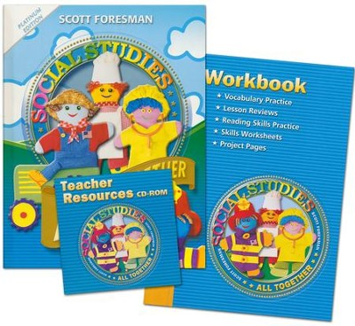 Scott Foresman Social Studies Grade 1 Homeschool Bundle   -