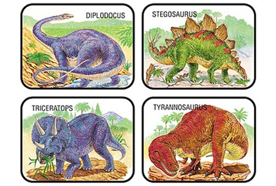 Dinosaurs Discovery Stickers  -