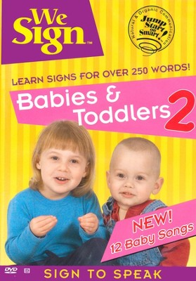 We Sign: Babies & Toddlers 2 DVD  -