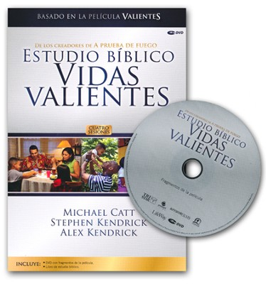 Estudio Biblico Vidas Valientes, Kit del Lider con DVD  (Courageous Living Bible Study, DVD Leader Kit)  -     By: Michael Catt, Stephen Kendrick, Alex Kendrick