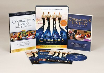 Courageous DVD Church Campaign Kit  -     By: Michael Catt, Stephen Kendrick, Alex Kendrick