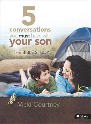 5 Conversations You Must Have With Your Son: The Bible Study, DVD Leader Kit  -     By: Vicki Courtney