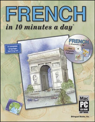 FRENCH in 10 minutes a day® with CD-ROM   -     By: Kristine K. Kershul