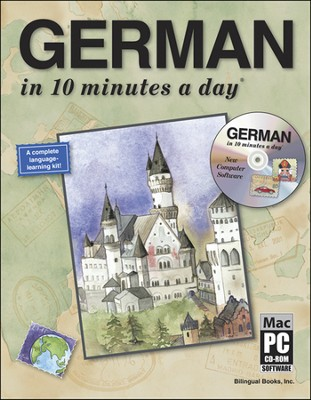GERMAN in 10 minutes a day® with CD-ROM   -     By: Kristine K. Kershul