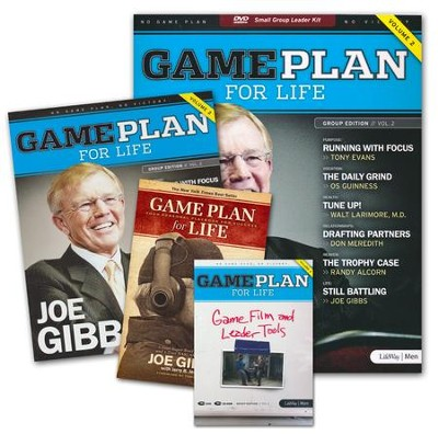 Game Plan for Life: Volume 2, DVD Leader Kit  -     By: Joe Gibbs