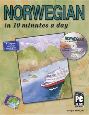 NORWEGIAN in 10 minutes a day® with CD-ROM   -     By: Kristine K. Kershul