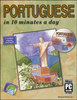 PORTUGUESE in 10 minutes a day® with CD-ROM   -     By: Kristine K. Kershul