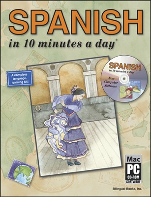 SPANISH in 10 minutes a day® with CD-ROM   -     By: Kristine K. Kershul