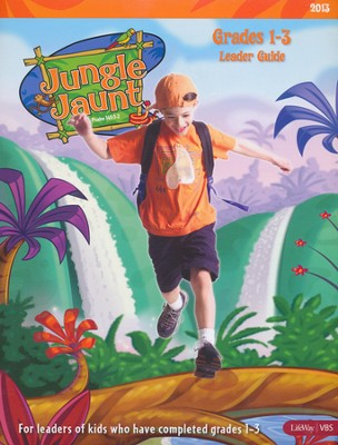Jungle Jaunt Grades 1-3 Leader Guide  -