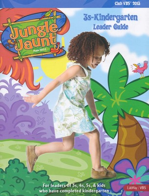 Jungle Jaunt 3s-Kindergarten Leader Guide  -