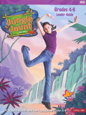 Jungle Jaunt Grades 4-6 Leader Guide  -