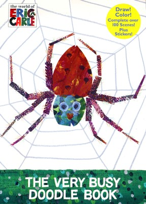 The Very Busy Doodle Book (The World of Eric Carle)  -     By: Eric Carle