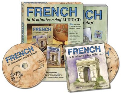 FRENCH in 10 minutes a day® AUDIO CD   -     By: Kristine K. Kershul