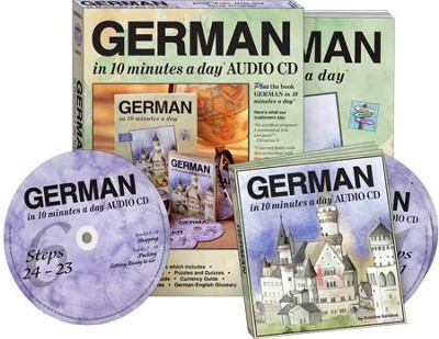 GERMAN in 10 minutes a day® AUDIO CD   -     By: Kristine K. Kershul