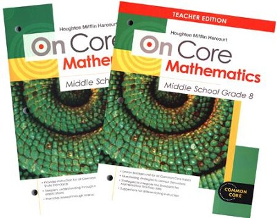 On-Core Mathematics Grade 8 Bundle   -